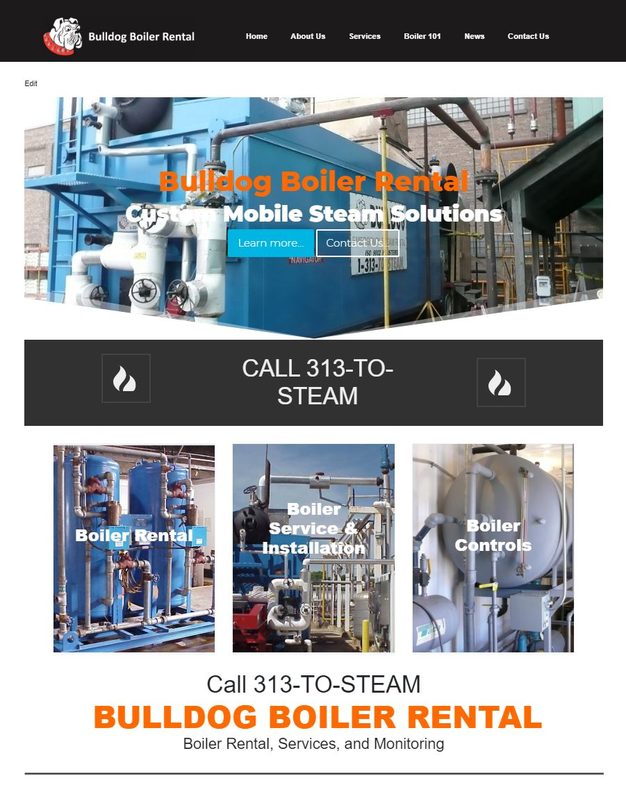 emergency steam boiler rental detroit michigan